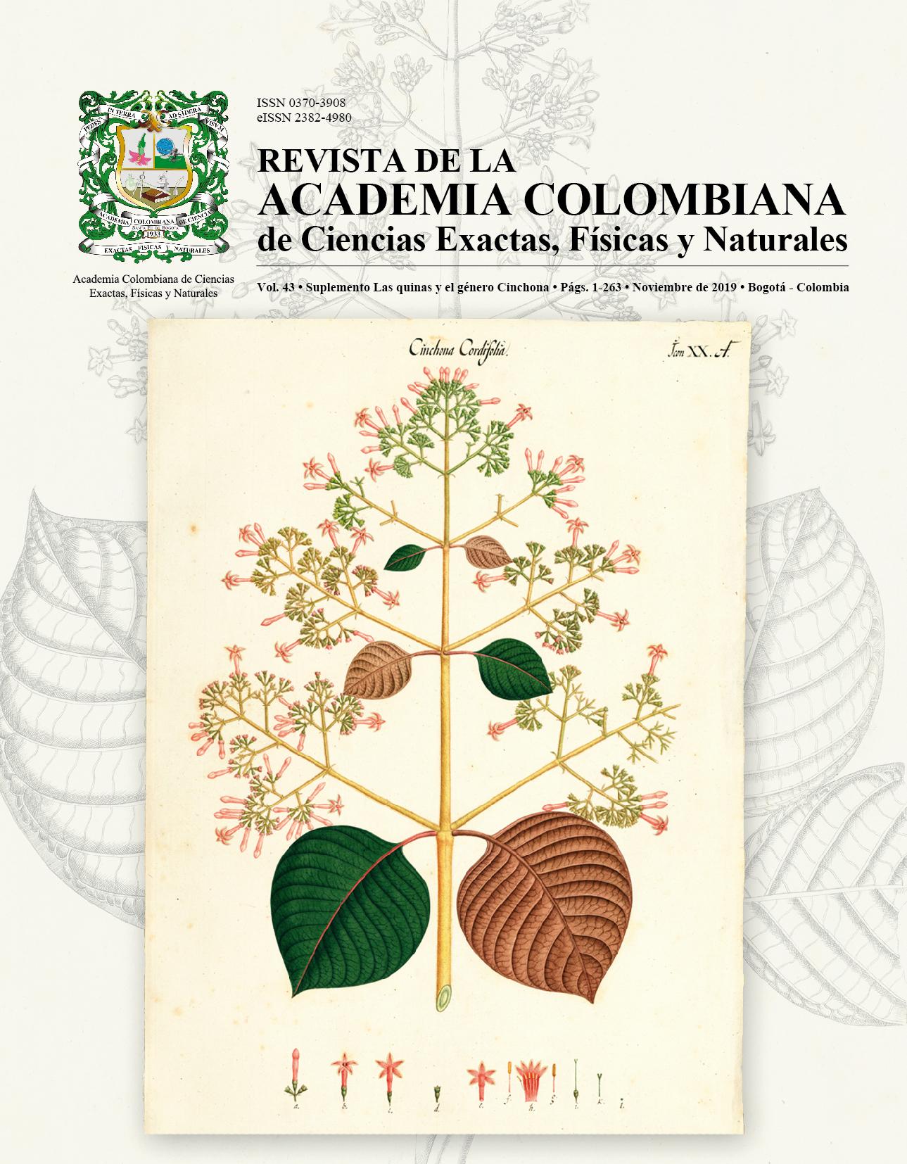 Las quinas y el género Cinchona