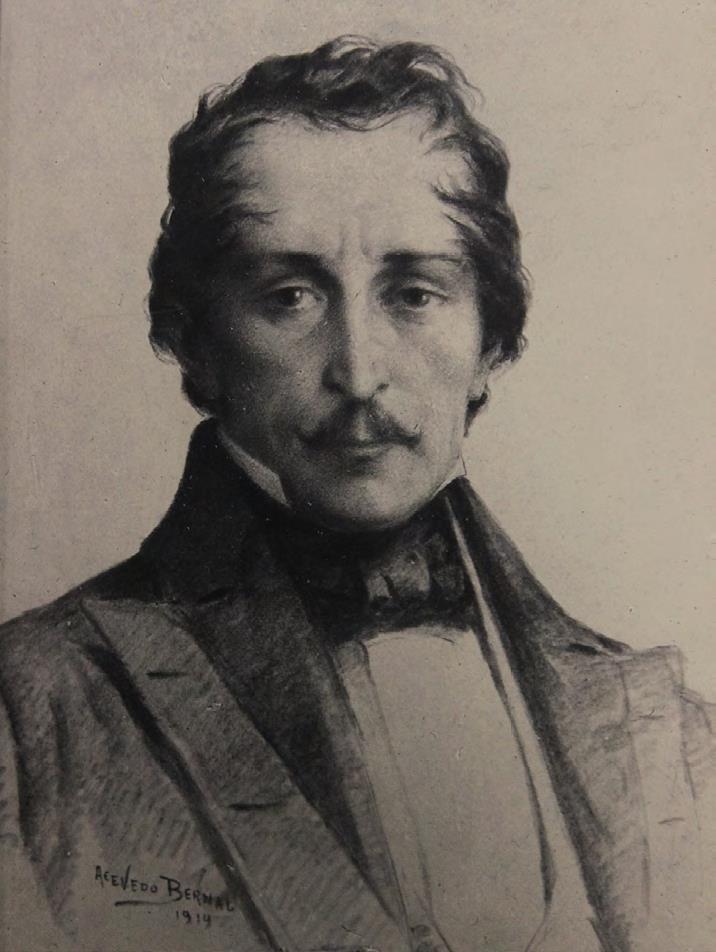 Figura 2. Francisco de Paula Santander - 1914. Ricardo Acevedo Bernal (Bogotá, 1867 - Civitavecchia, Italia; 1930)
